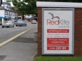 RedKite Golfstore poster at Hazlemere Cross Roads