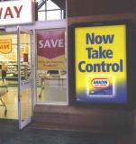 Safeway (Now Morrisons) Garry negotiated contract for the development of 1800 x 6 sheets at this National Supermarket chain