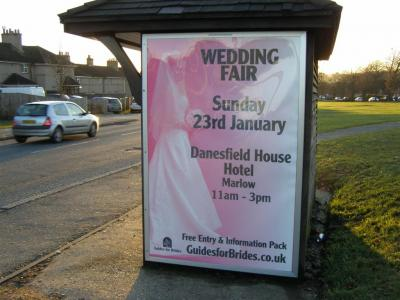 Wedding Fair Poster for Danesfield House Hotel Marlow