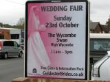 Wedding Fair at Wycombe Swan & Town Hall Poster