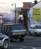 """Your Advert Here"" - 16 sheet (2m wide x 3m high) Out and About Advertising Ltd poster site in High Wycombe Town Centre - Call Garry for Availability and Media Space / printing prices"