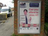 Wycombe Business Expo 6 sheet Outdoor Advertising Poster in Hazlemere High Wycombe