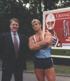 Gladiators Campaign on Motorway Service Areas - (Garry is the one on the left)